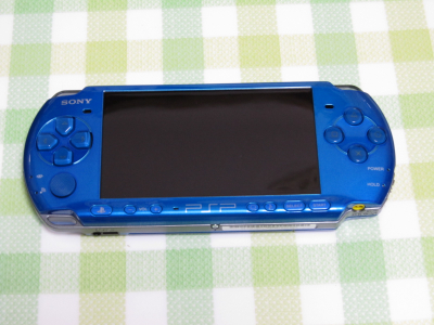 PlayStation Portable バイブラント・ブルー
